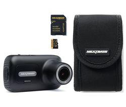 NEXTBASE 322GW Full HD Dash Cam & Go Pack with 32 GB U3 microSD Card Bundle