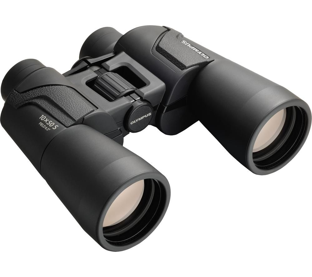 OLYMPUS 10 x 50 mm S Binoculars - Black