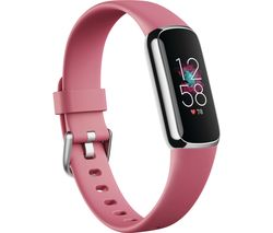 Luxe Fitness Tracker - Platinum & Orchid, Universal