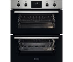 FanCook ZPHNL3X1 Electric Built-under Double Oven - Stainless Steel