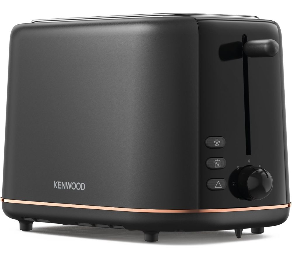 KENWOOD Abbey Lux TCP05.A0DG 2-Slice Toaster - Matte Black