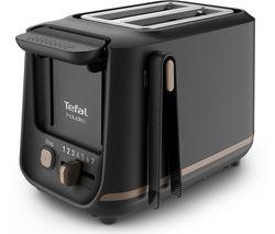 Includeo TT533840 2-Slice Toaster - Black