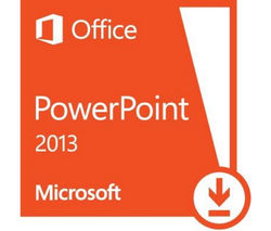 MICROSOFT Powerpoint 2013 - 1 user (download)