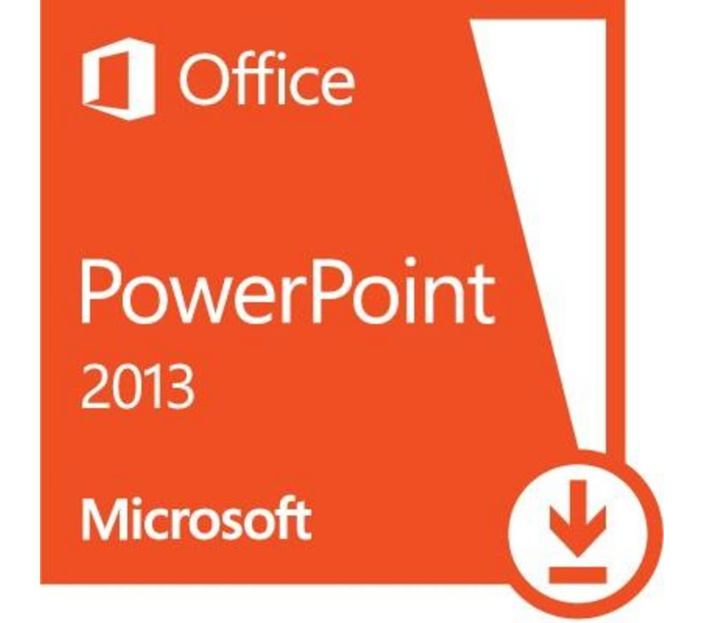 Buy Microsoft Powerpoint 2013 1 User Download Free Delivery
