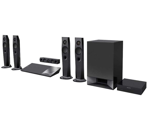 Buy Sony Bdvn7200wb Cek 5 1 Smart 3d Blu Ray Amp Dvd Home
