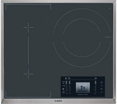 AEG HK683320XG Electric Induction Hob - Black