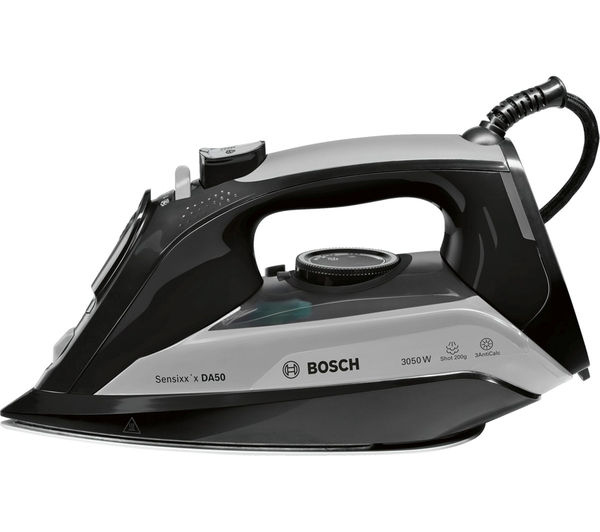 Image of BOSCH TDA5072GB Steam Iron - Black & Grey