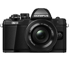 OLYMPUS E-M10 Mark II Mirrorless Camera with 14-42 mm f/3.5-5.6 Lens