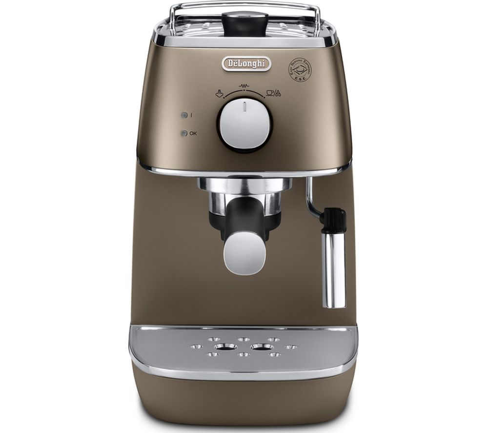 buy delonghi distinta eci341bz coffee machine bronze free delivery currys. Black Bedroom Furniture Sets. Home Design Ideas