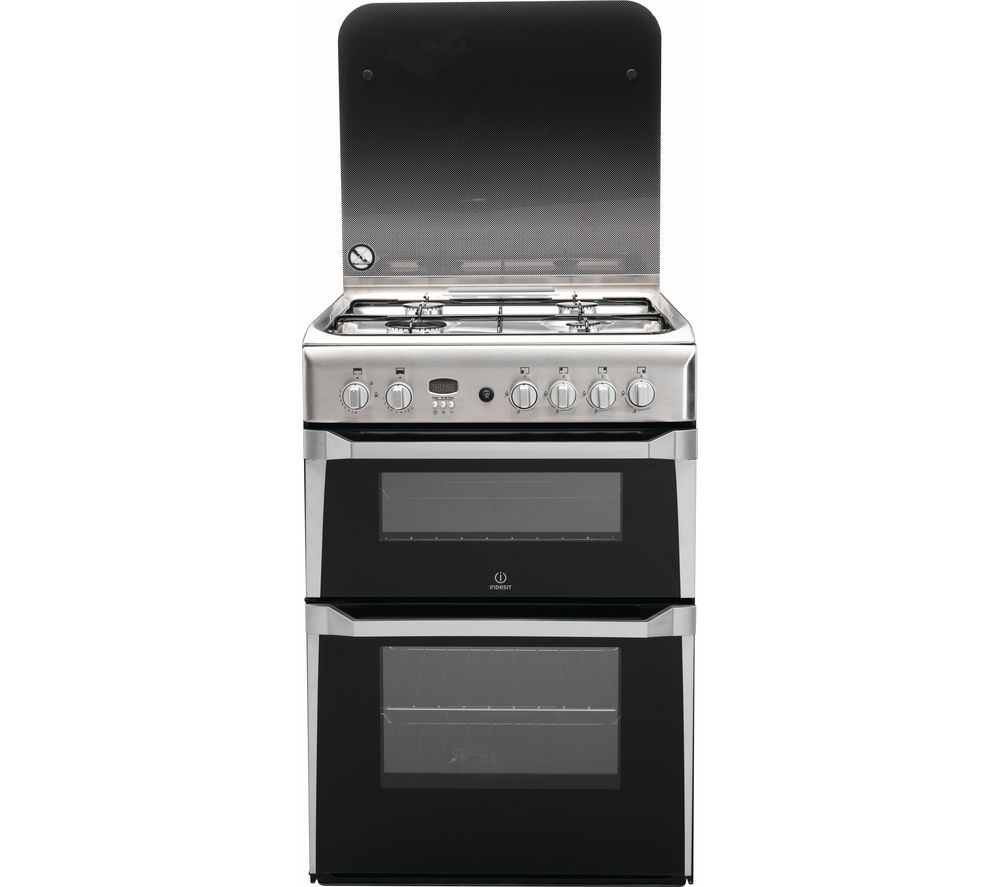 INDESIT ID60G2X 60 cm Gas Cooker - Stainless Steel
