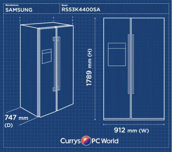 Buy Samsung Rs53k4400sa American