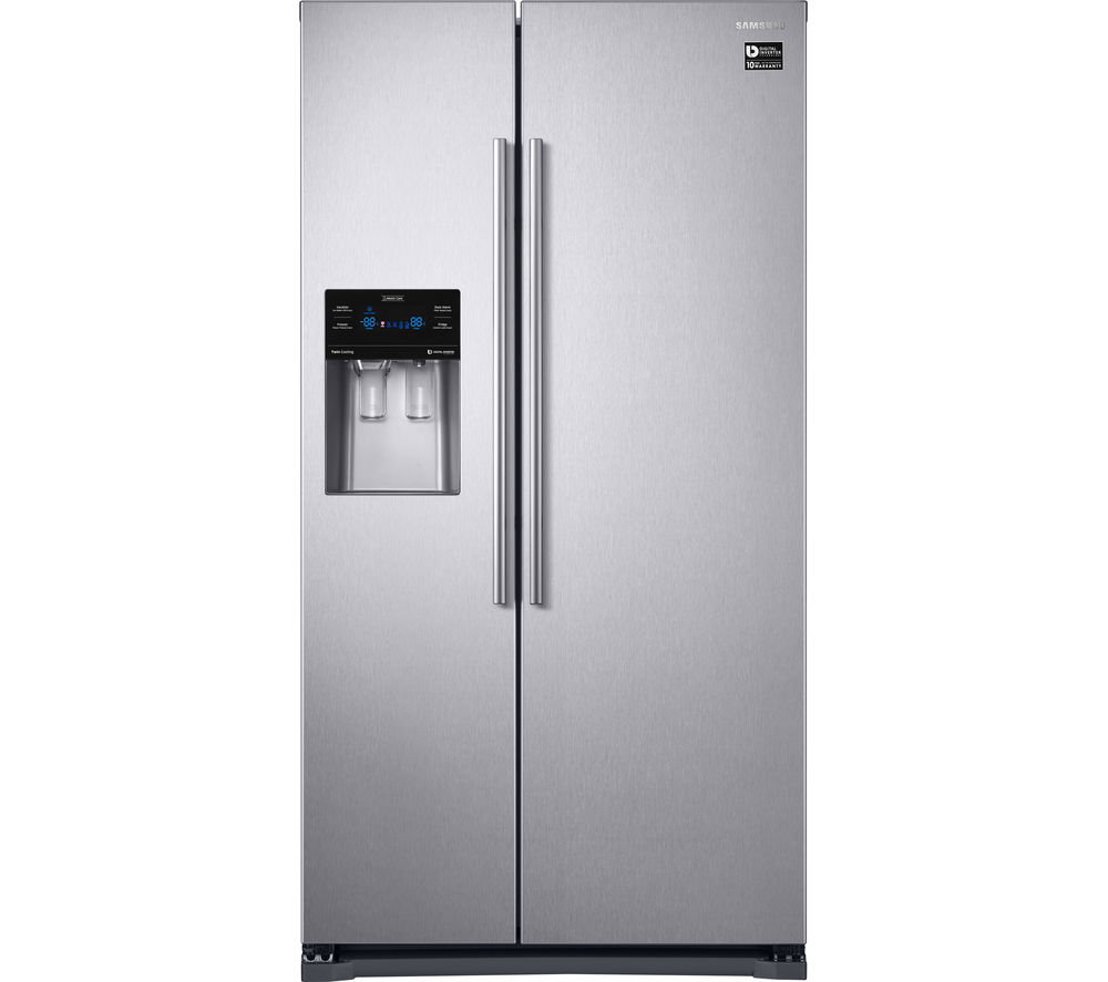 buy samsung rs53k4400sa american style fridge freezer silver free delivery currys. Black Bedroom Furniture Sets. Home Design Ideas