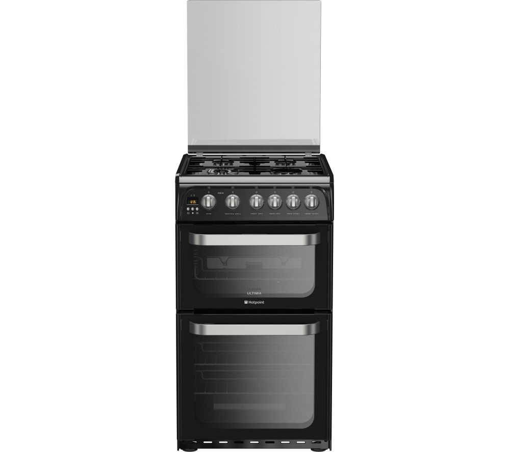 Compare prices for Hotpoint HUG52K 50cm Gas Cooker