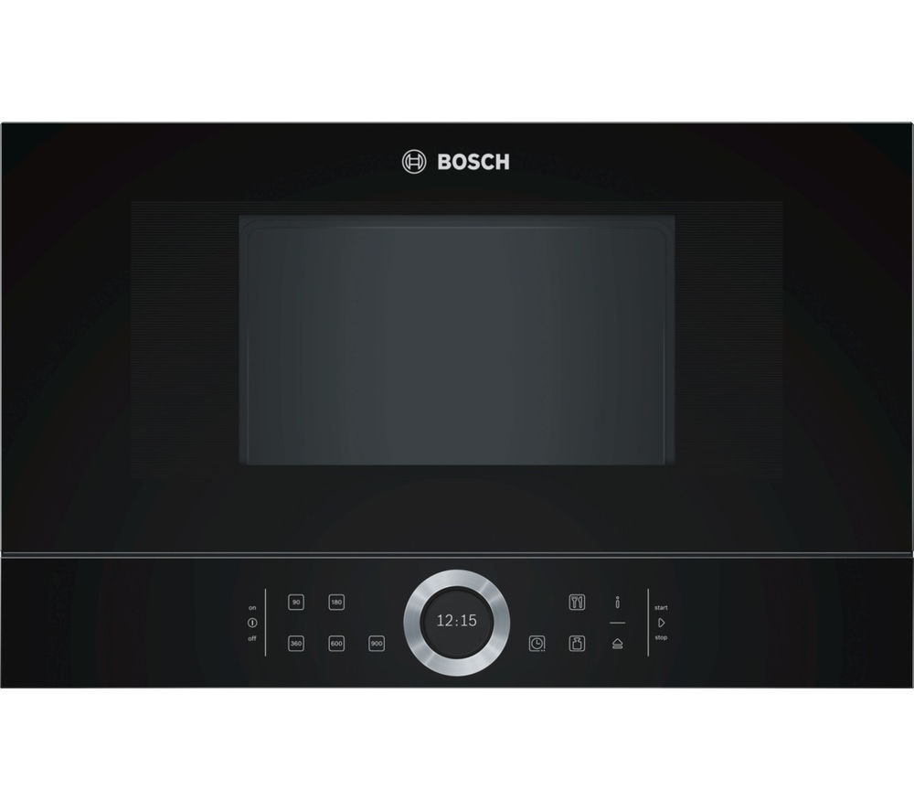BOSCH BFL634GB1B Built-In Solo Microwave - Black