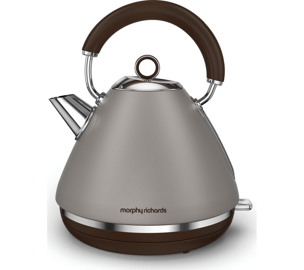 MORPHY RICHARDS Accents 102102 Traditional Kettle - Pebble