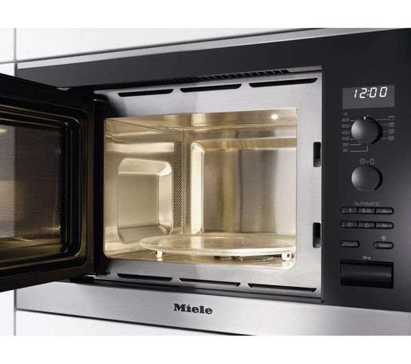 Miele M6032sc Built In Microwave With Grill Stainless Steel