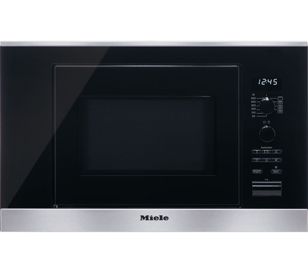 MIELE M6032SC Built-in Microwave with Grill - Stainless Steel