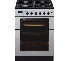 BAUMATIC BCG625SS Gas Cooker - Stainless Steel