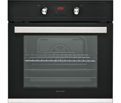 SHARP K-61D27BM1 Electric Oven - Black