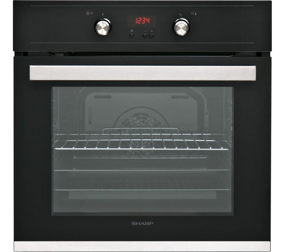 SHARP K-61D27BM1 Electric Oven - Black, Black
