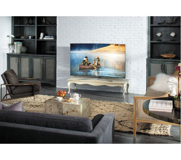 samsung curved tv in living room. samsung ue55mu9000 55\ samsung curved tv in living room