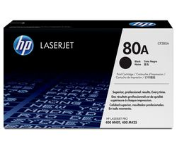 HP 80A Original LaserJet Black Toner Cartridge