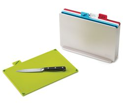 JOSEPH JOSEPH Index Chopping Board Set - Silver
