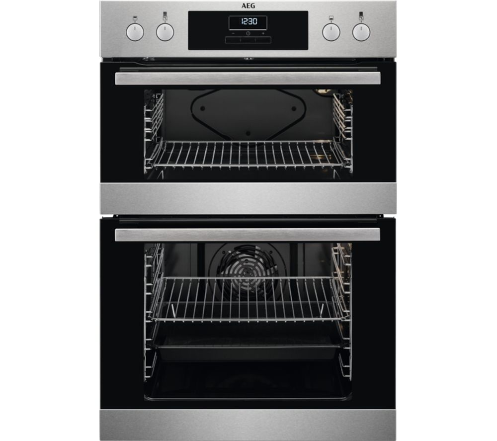 Cheapest price of AEG DEB331010M Electric Double Oven in new is £499.00