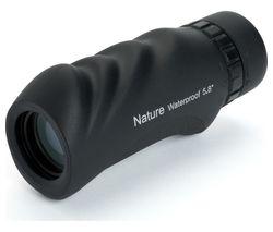 Nature 71210-CGL 10 x 25 mm Spotting Scope - Black