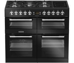 LEISURE Cuisinemaster CS100F520K Dual Fuel Range Cooker - Black