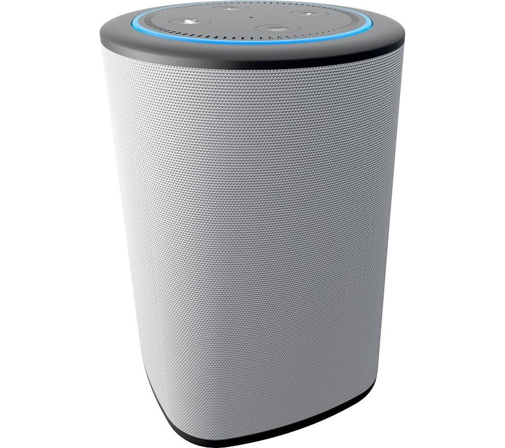 buy ninety7 vaux speaker for amazon echo dot grey free. Black Bedroom Furniture Sets. Home Design Ideas