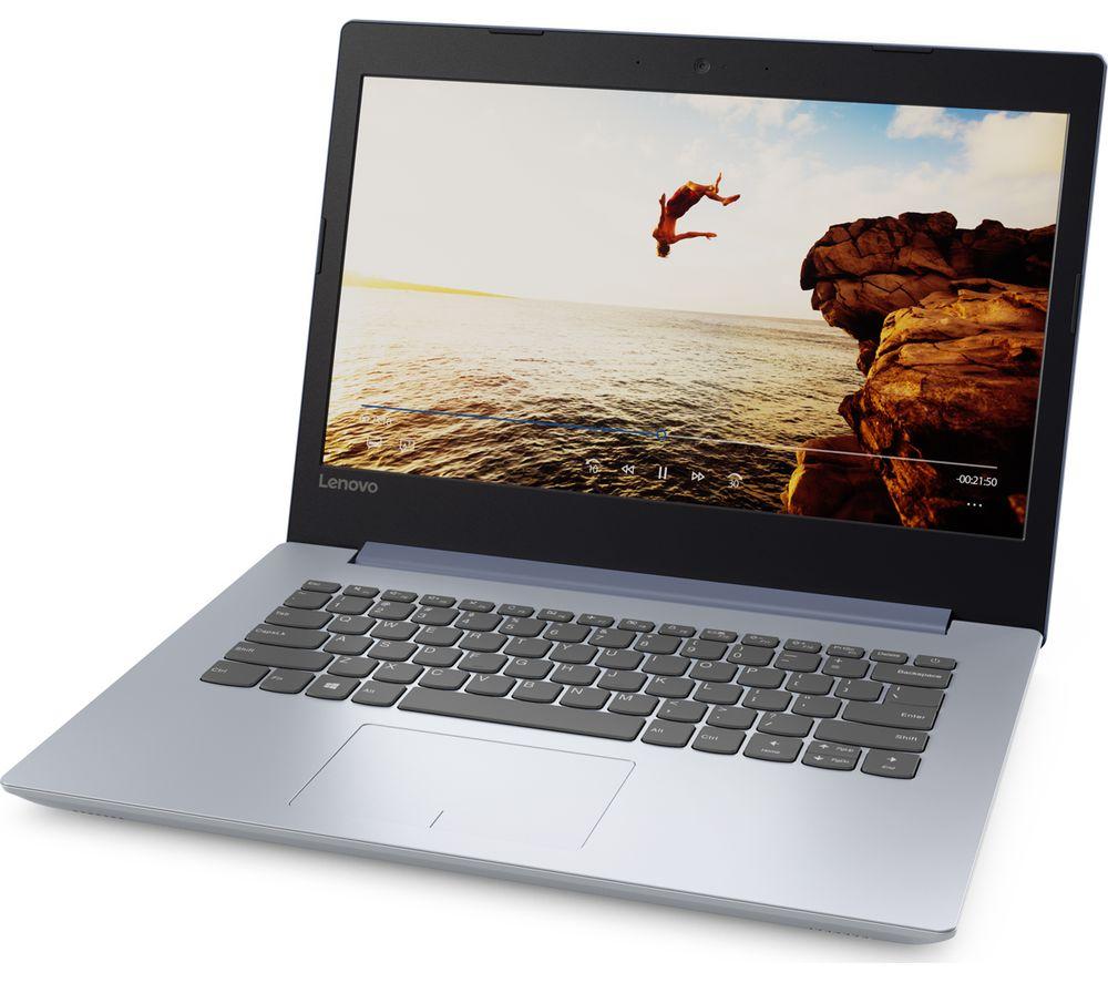 """LENOVO IdeaPad 320 14IKBN 14"""" Laptop - Blue"""