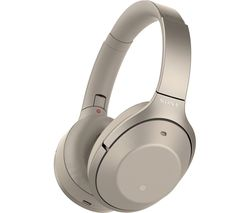 SONY WH-1000XM2 Wireless Bluetooth Noise-Cancelling Headphones - Gold