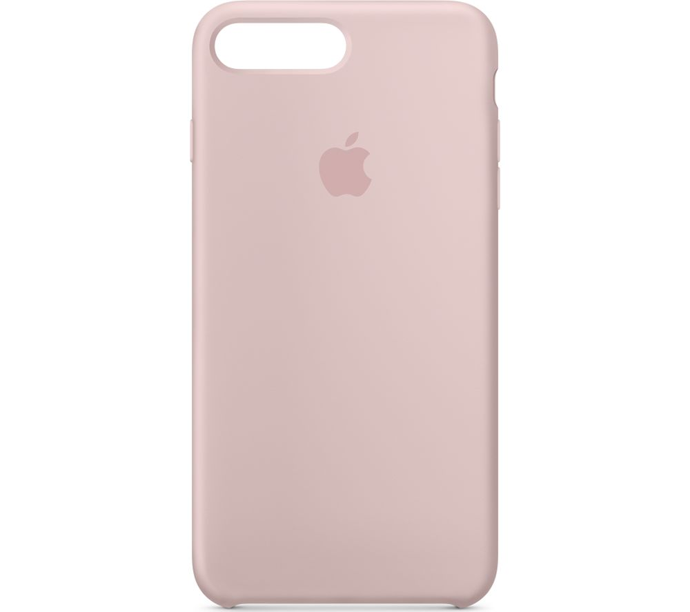 APPLE iPhone 8 & 7 Plus Silicone Case - Pink Sand, Pink cheapest retail price