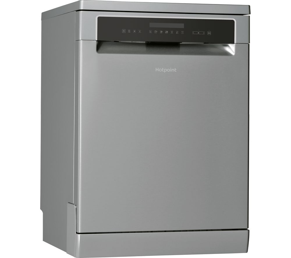 HOTPOINT HFP 4O22 WGCX Full-size Dishwasher - Stainless Steel