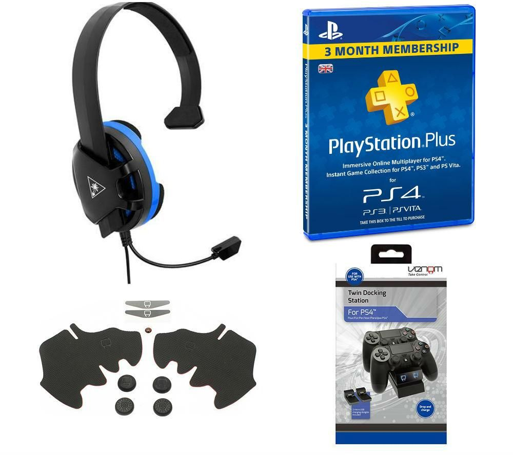 TURTLE BEACH Recon Chat Gaming Headset with Accessory ...