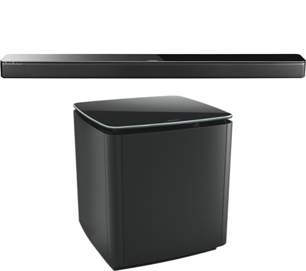 BOSE SoundTouch 300 Wireless Sound Bar & Wireless Subwoofer Bundle