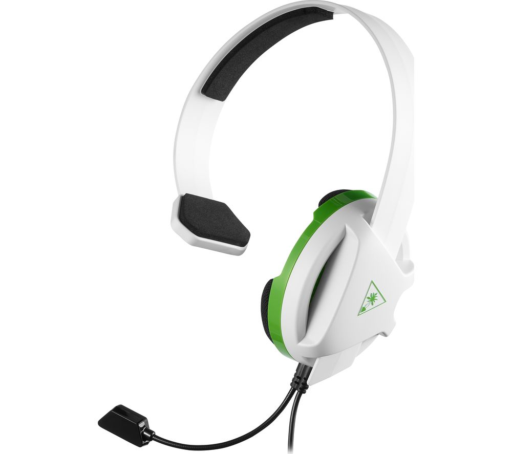 TURTLE BEACH Recon Chat Gaming Headset - White & Green