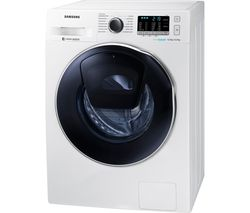 SAMSUNG Addwash WD90K5B10OW 9 kg Washer Dryer - White