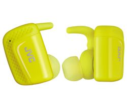JVC HA-ET90BT-BE Wireless Bluetooth Headphones - Yellow