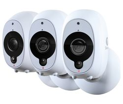 SWANN SWWHD-INTCAMPK3 Smart 1080p Full HD Wireless Security Cameras - Triple Pack