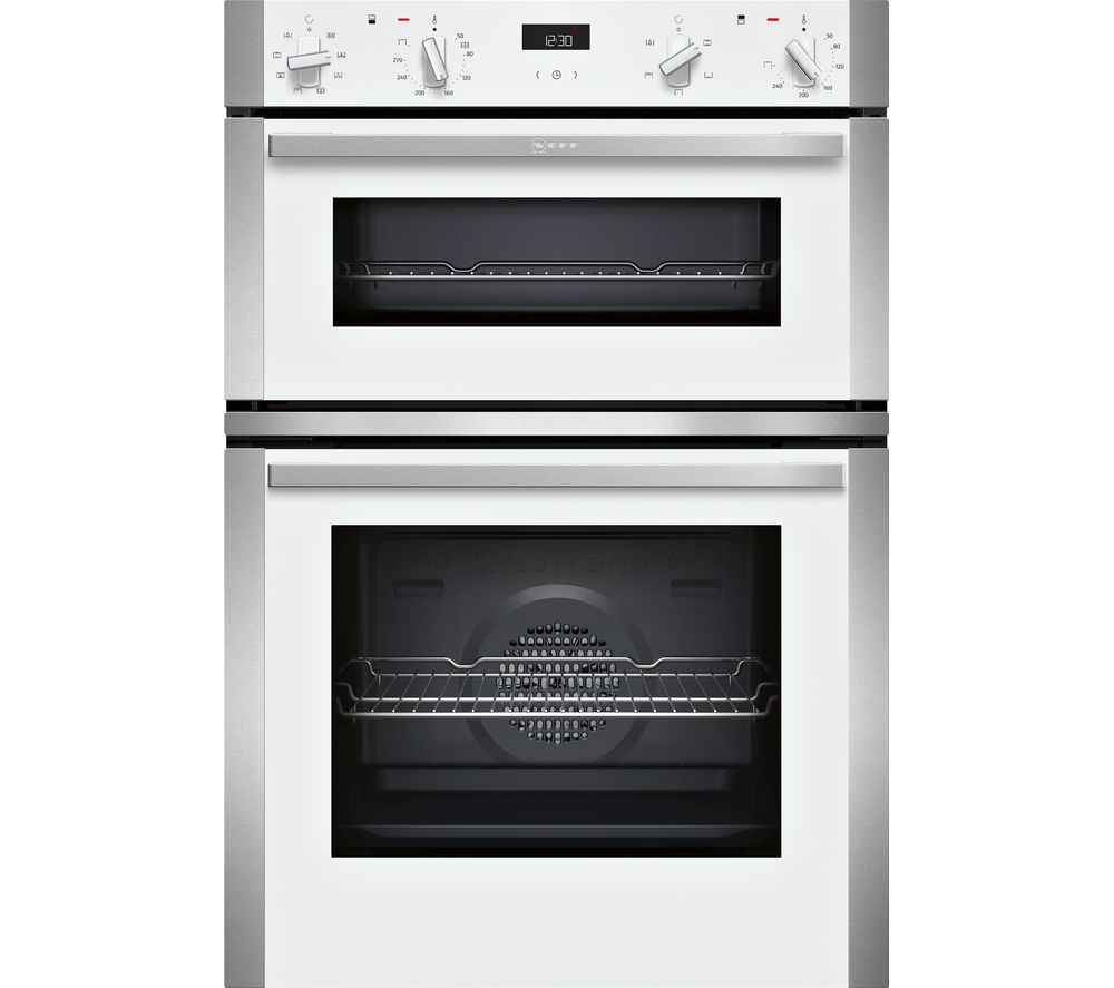 NEFF N50 U1ACE2HW0B Electric Double Oven - White, White