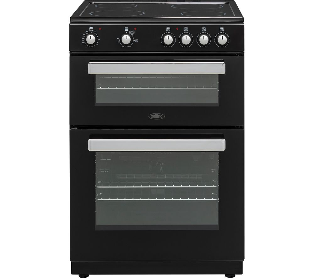 BELLING FSE608D 60 cm Electric Ceramic Cooker - Black