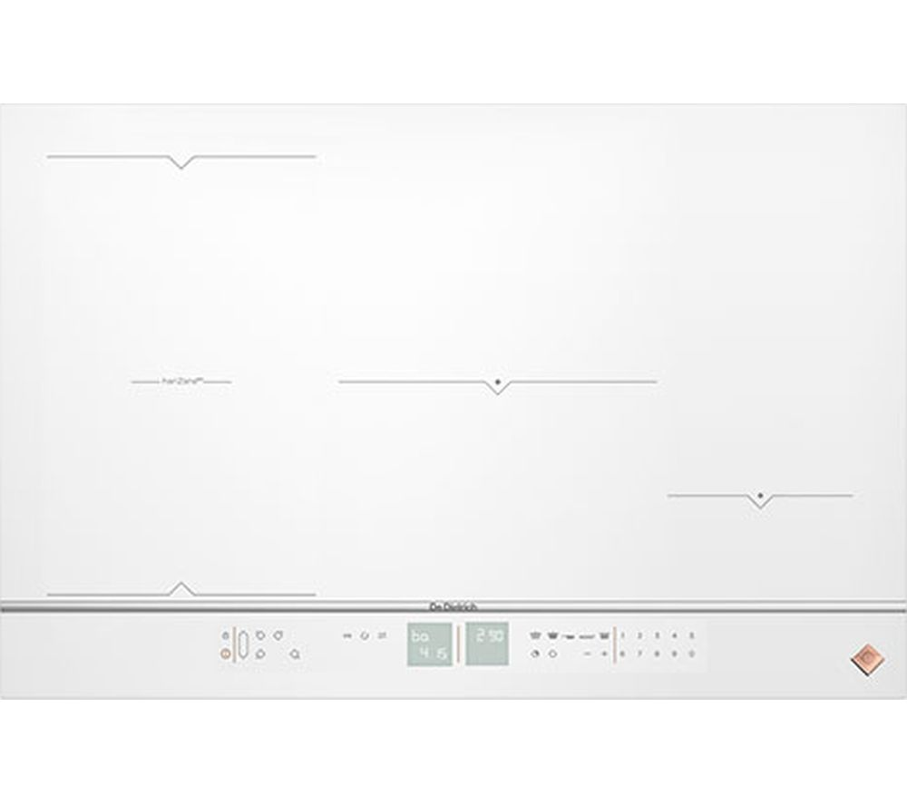 Image of DE DIETRICH DPI7884W Electric Induction Hob - White, White