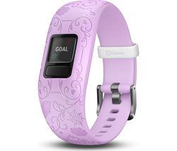 vivofit jr. 2 Kid's Activity Tracker - Lilac Disney Princess, Adjustable Band