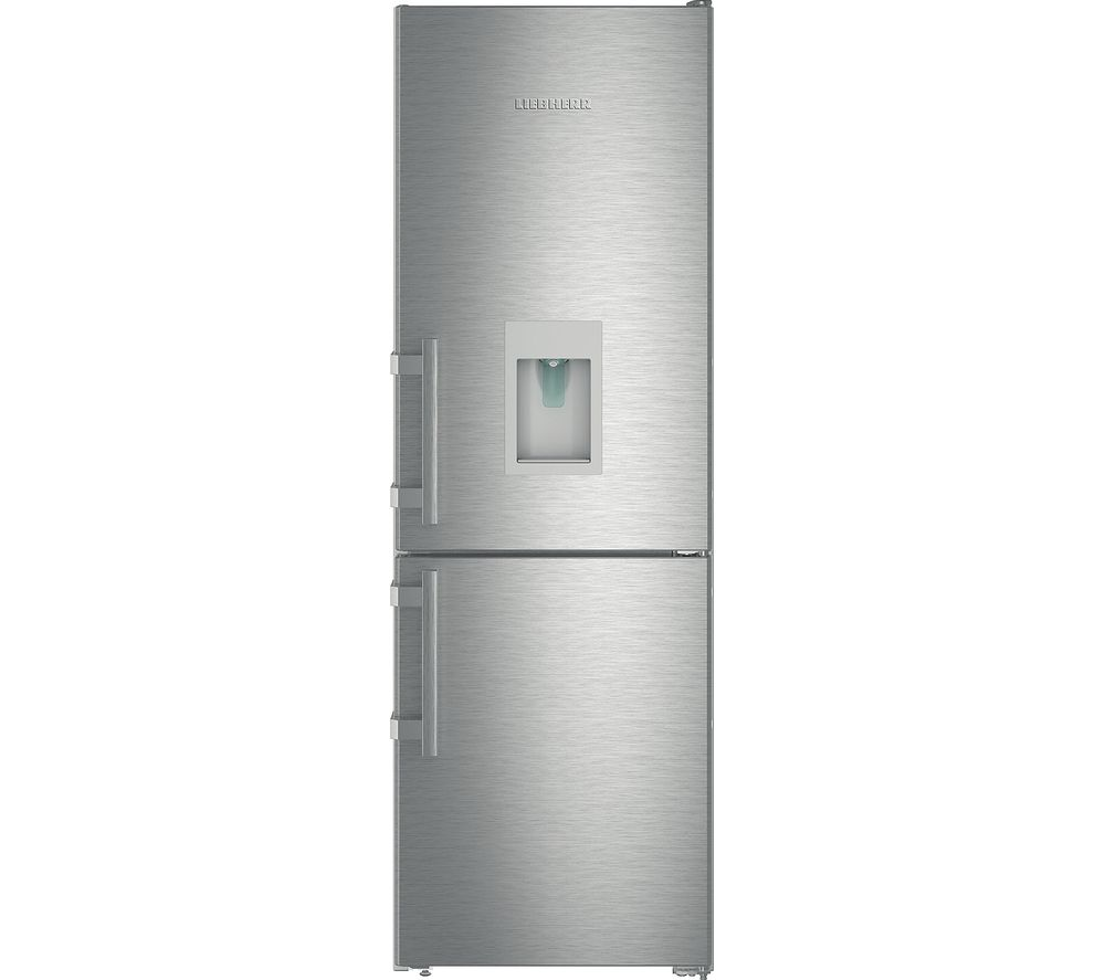 LIEBHERR CNef3535 60/40 Fridge Freezer - Stainless Steel, Stainless Steel