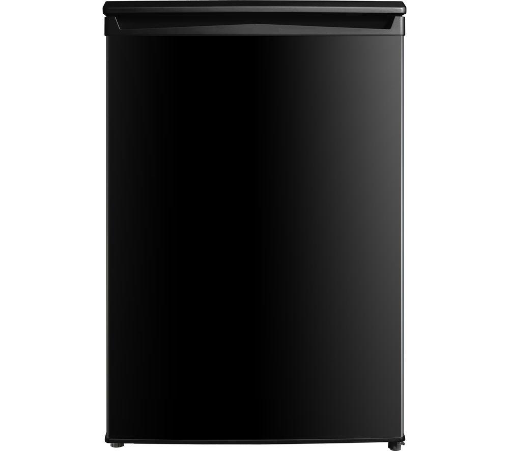 ESSENTIALS CUF55B19 Undercounter Freezer - Black
