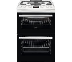ZCG63260WE 60 cm Gas Cooker - White