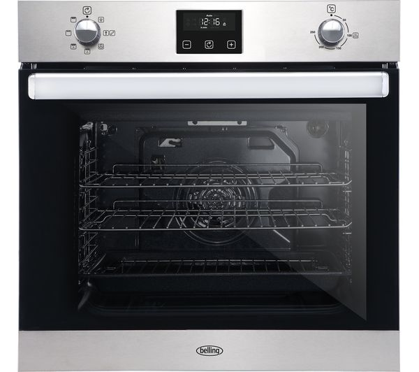 Image of BELLING BI602FP Electric Oven - Stainless Steel