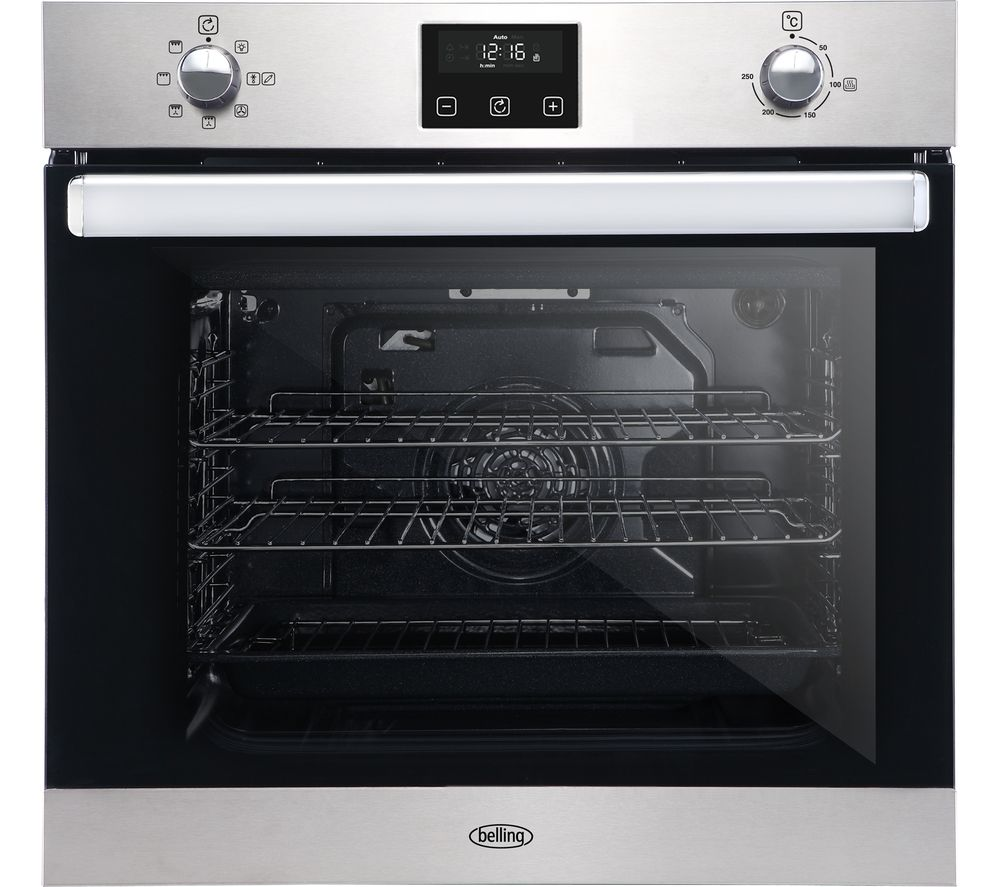 Belling Bi602fp Electric Oven Stainless Steel Stainless Steel